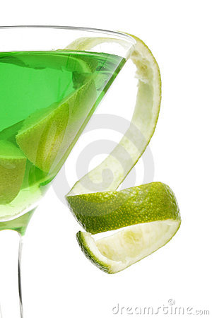 Free Citrus Cocktail Twist Stock Image - 441301
