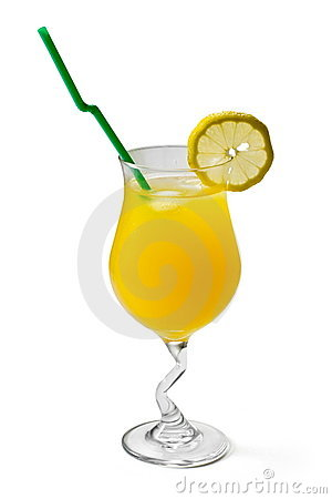 Free Citrus Cocktail With Lemon And Lime Royalty Free Stock Images - 8498039