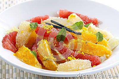 Citrus Fruit Dessert