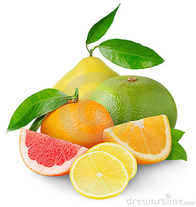 Free Citrus Fruits Royalty Free Stock Photography - 18305277