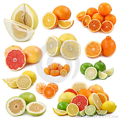 Free Citrus Fruits Royalty Free Stock Photo - 7797655