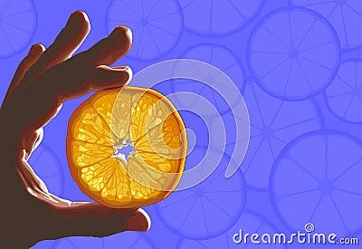 Citrus in hand