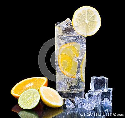 Free Citrus Ice Water Stock Image - 7702941
