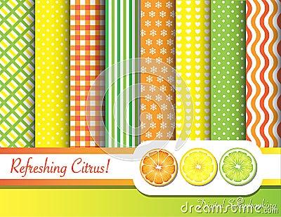 Citrus scrapbooking