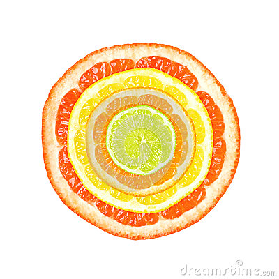 Free Citrus Slices Royalty Free Stock Image - 25493116