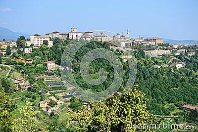 Citta Alta, Bergamo, Lombardy, Italy, Europe