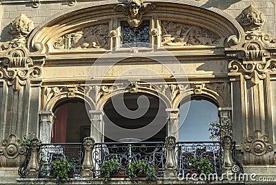 Citta di Castello, balcony