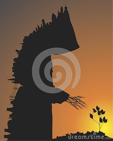 Free City And Trees Royalty Free Stock Photography - 163136367