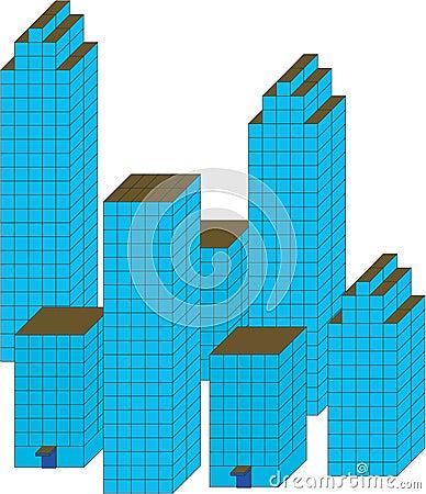City architecture.