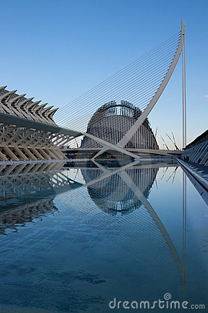 City of Arts and Science, Valencia Editorial Image
