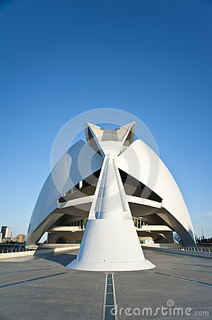 The city of Arts and Science in Valencia. Editorial Image