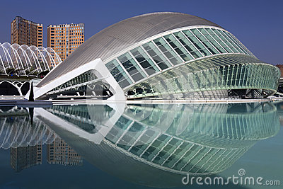 City of Arts & Sciences Editorial Image