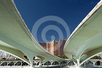 The City of Arts and Sciences Valencia Editorial Stock Image