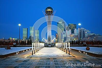 City of Astana - the capital of Kazakhstan