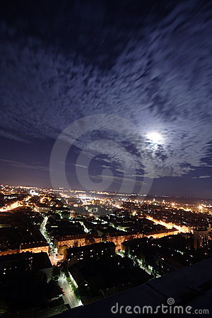 Free City At Night Stock Images - 3705644