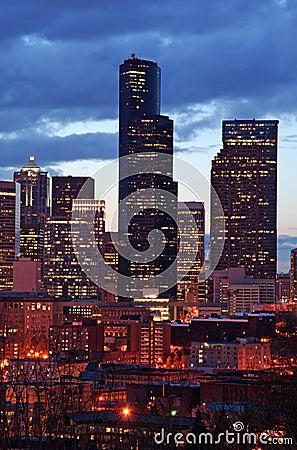 Free City At Night Stock Photography - 636072