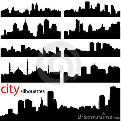 Free City Background Vector Royalty Free Stock Photo - 3865495