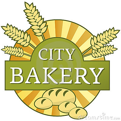 City bakery label