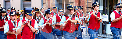 City band Editorial Photo