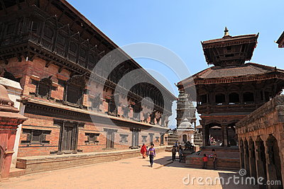 The City Bhaktapur Nepal Editorial Stock Photo