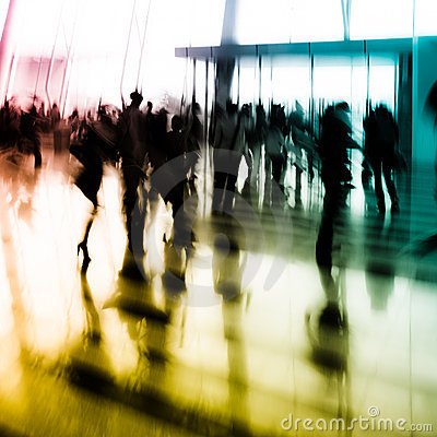 Free City Business People Abstract Background Stock Photography - 22293602