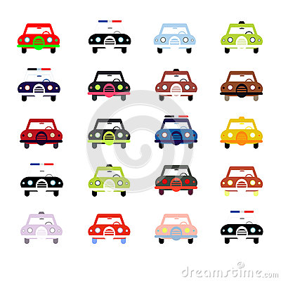 City cars in color