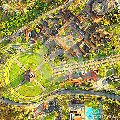 Free City Center Of The World Quito Ecuador Aerial Royalty Free Stock Image - 85529226
