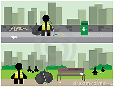 City Cleanup Banners