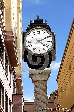Boca Raton Mizner park city clock