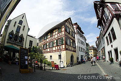 City of Constance Editorial Stock Image