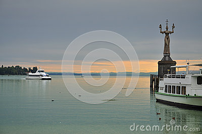 City of Constance, Bodensee, Germany