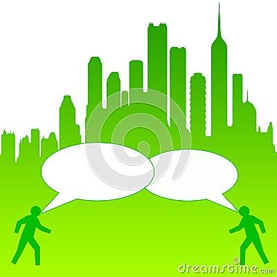 City conversation
