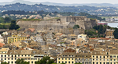City Of Corfu In  Greece Royalty Free Stock Photos - Image: 8728468