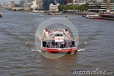 City Cruises Editorial Stock Photo