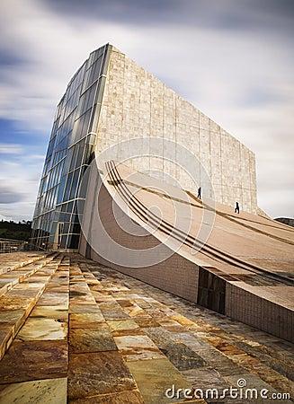 City of Culture, Santiago de Compostela, Spain Editorial Image