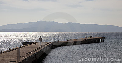 City Dock of Datca, Turkey