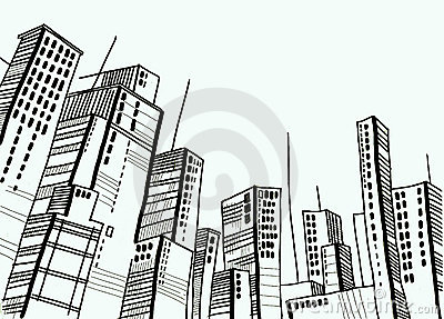 City and dome and drawing and architecture