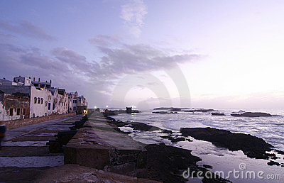 City of Essaouira by Atlantic Ocean, Morocco