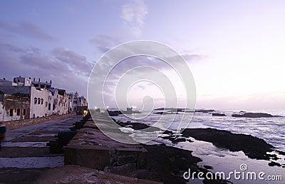 City of Essaouira by Atlantic Ocean, Morocco