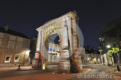 City gate in Beaune, France