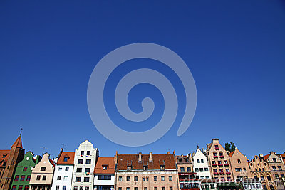 City of Gdansk (Danzig), Poland