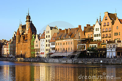 City of Gdansk Old Town