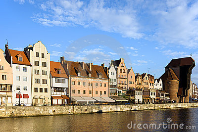 City of Gdansk in Poland