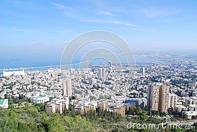 The city of Haifa