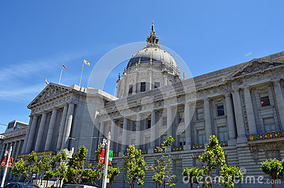City Hall Editorial Stock Photo