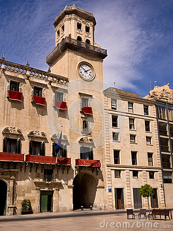 City Hall in Alicante, Spain