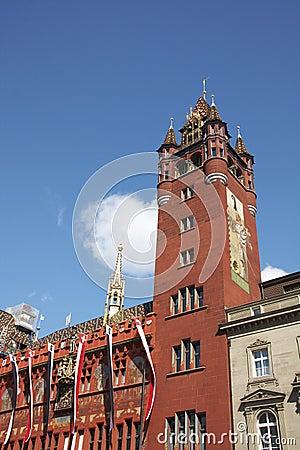City hall of Basel
