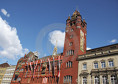 City Hall of Basel