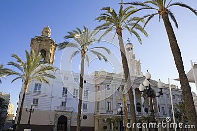 City Hall of Cadiz.