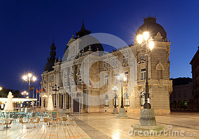City hall of Cartagena, Spain